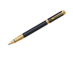 Waterman Perspective Black w/ Gold  Rollerball Pen