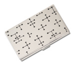 Acme Etched Card Case Dots - Charles & Ray Eames  Accessory