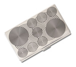 Acme Etched Card Case Circle by Verner Panton  Accessory
