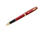 Parker Sonnet Original Modern Red Lacquer - Med Pt Fountain Pen