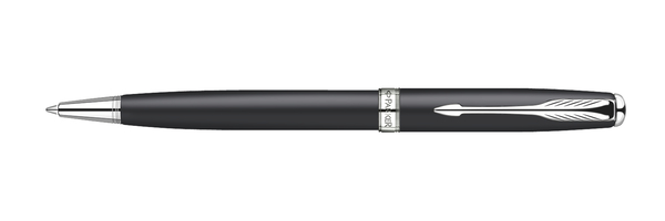 Parker Sonnet Original Black Lacquer CT With Free Refill Ballpoint Pen
