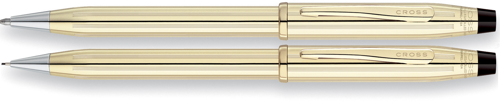 Cross Century II 10 Karat Gold  Pen & Pencil Set