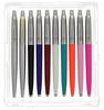Parker Jotter Pack of 10 - Assorted Bundle  Ballpoint Pen
