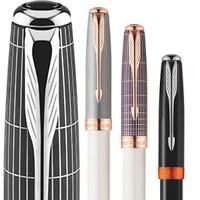 Parker Sonnet Great Expectations Line of premium fountain pens rollerball pens and ballpoint pens