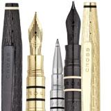 Cross spire pens