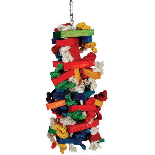 Knots N Blocks Bird Toy