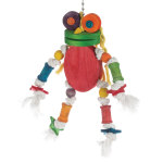 The Silly Wooden Frog
