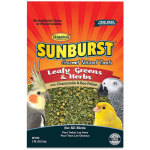 Sunburst Leafy Greens & Herbs Gourmet Natural Treat for Birds