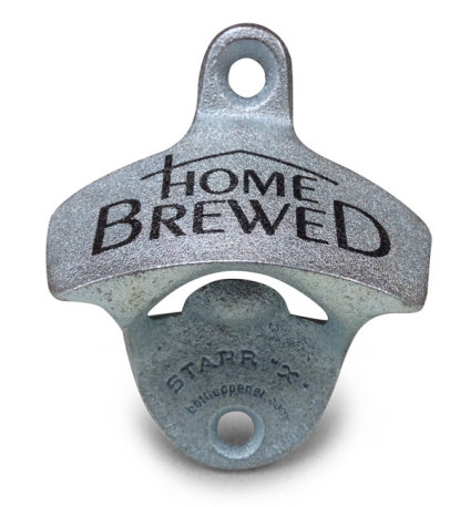 Home Brewed Mounted Bottle Opener