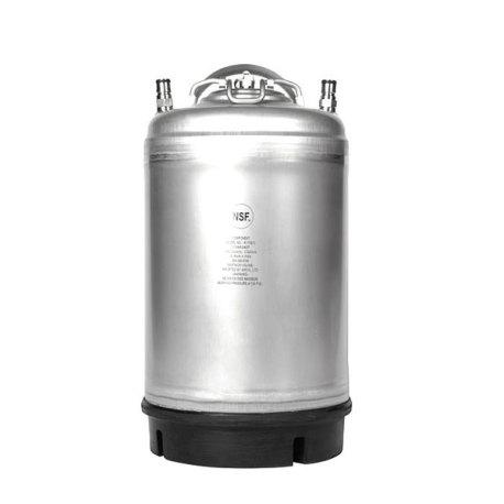 New AMCYL 3 Gallon Ball Lock Corny Keg - Single Handle