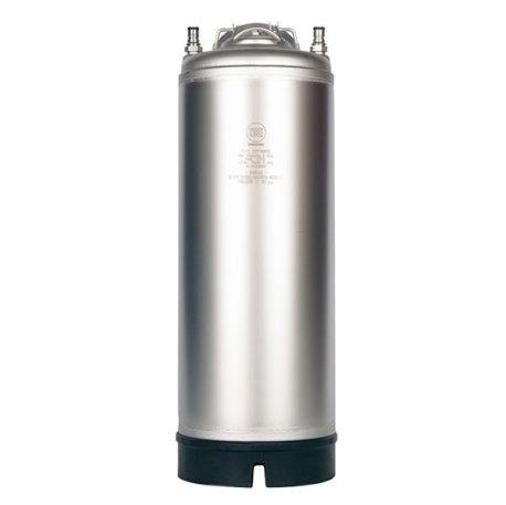 New AMCYL 5 Gallon Ball Lock Corny Keg - Single Handle