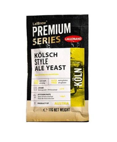 LalBrew Premium Koln Kolsch Style Dry Yeast - 11 Grams (Lallemand)