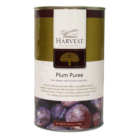 Plum Puree, 49 oz, Vintner's Harvest