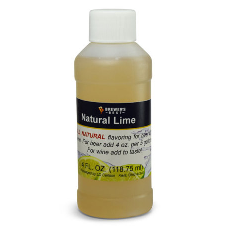 Lime Natural Flavoring, 4 fl oz.