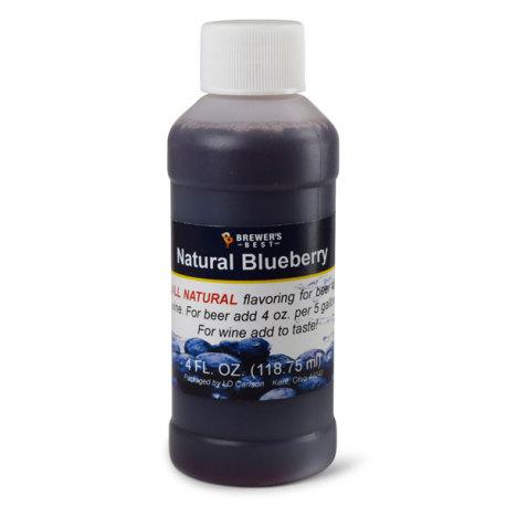 Blueberry Natural Flavoring, 4 fl oz.