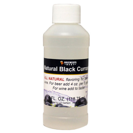 Black Currant Natural Flavoring, 4 fl oz.