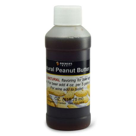 Peanut Butter Natural Flavoring, 4 fl oz.
