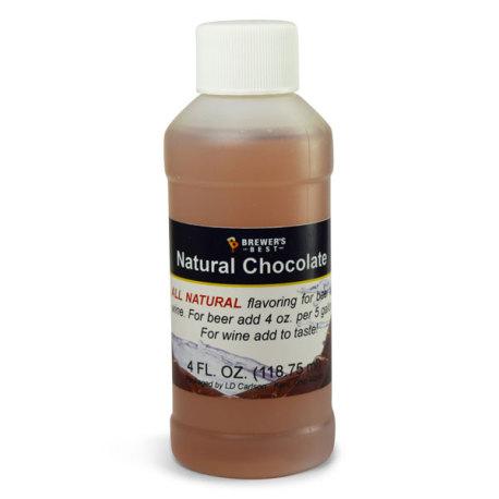 Chocolate Natural Flavoring, 4 fl oz.