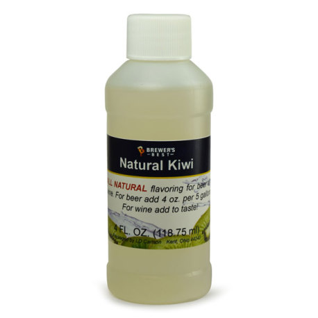 Kiwi Natural Flavoring, 4 fl oz.