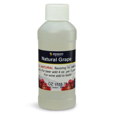 Grape Natural Flavoring, 4 fl oz.