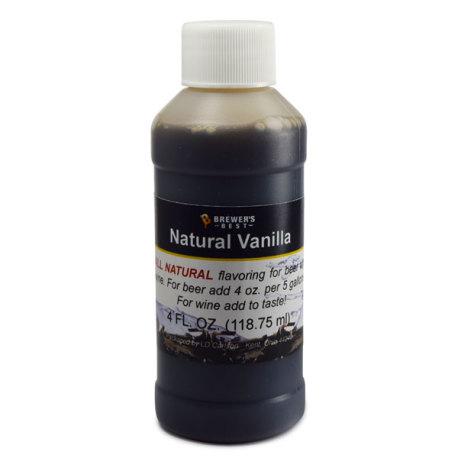 Vanilla Natural Flavoring, 4 fl oz