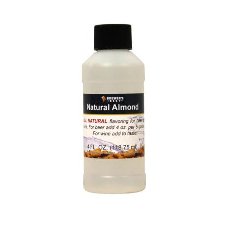 Almond Natural Flavoring, 4 fl oz.