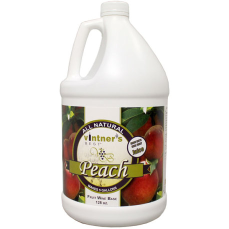 Peach Fruit Wine Base, Vintner's Best