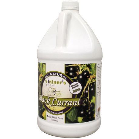 Black Currant Fruit Wine Base, Vintner's Best