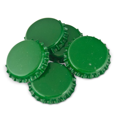 Green Crown Caps O2 Barrier, 144 ct.
