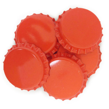 Orange Crown Caps O2 Barrier, 144 ct