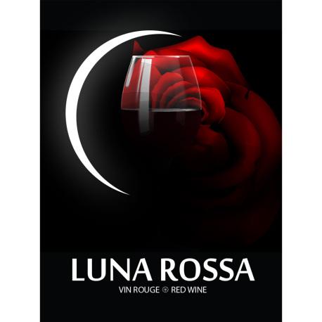 Luna Rossa Self Adhesive Wine Labels, pkg of 30