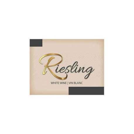 Riesling Self Adhesive Wine Labels, pkg of 30