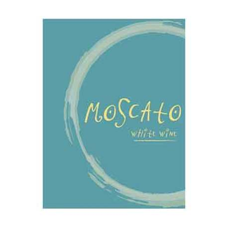 Moscato Self Adhesive Wine Labels, pkg of 30