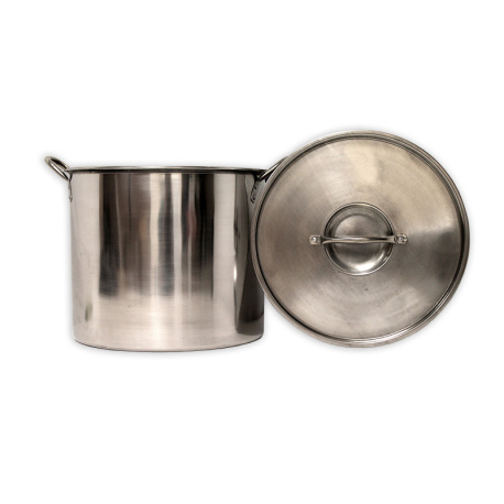 5 Gallon (20 QT) Stainless Steel Brew Pot with Lid