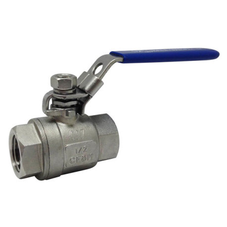 "1/2"" Stainless Ball Valve - Full Port"