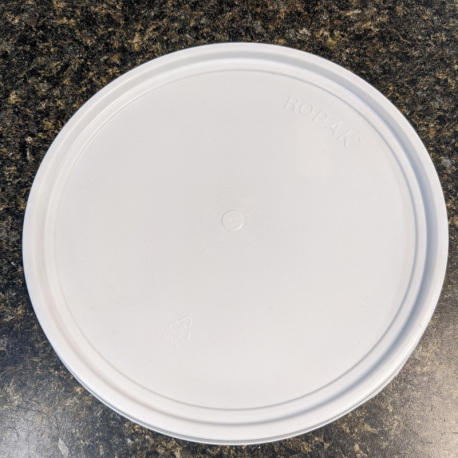 Lid for 2 Gallon Fermenting Bucket - Solid with No Grommet