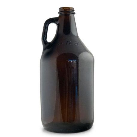 1/2 Gallon Amber Growler