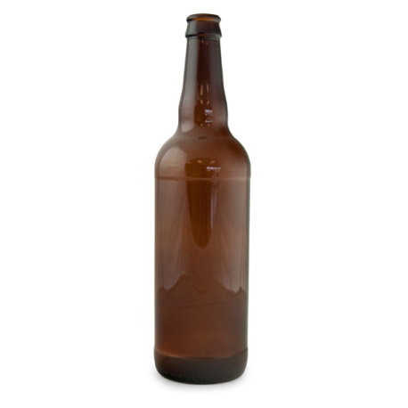 22 oz. Brown Beer Bottles - Case of 12