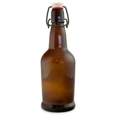 EZ Cap Bottles, Amber (Case of 12)