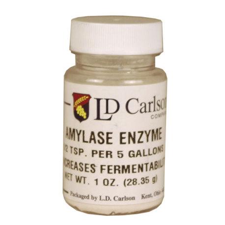 Amylase Enzyme, 1 oz.