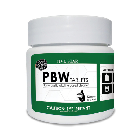 PBW Tablets, 12 tabs, 10g - for Kegs, Carboys and Fermenters
