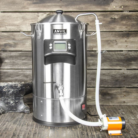 Anvil Foundry Small Batch All-Grain Brewing System with Pump Recirculation Kit - 6.5 Gallon