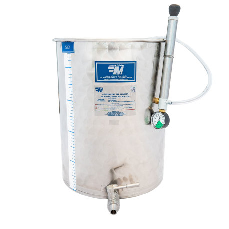 Marchisio 50L Variable Capacity Stainless Steel Tank
