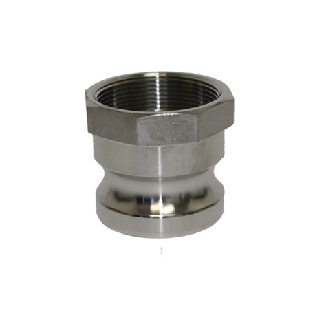 Male Camlock Disconnect x 1/2 in. FPT, 304 SS