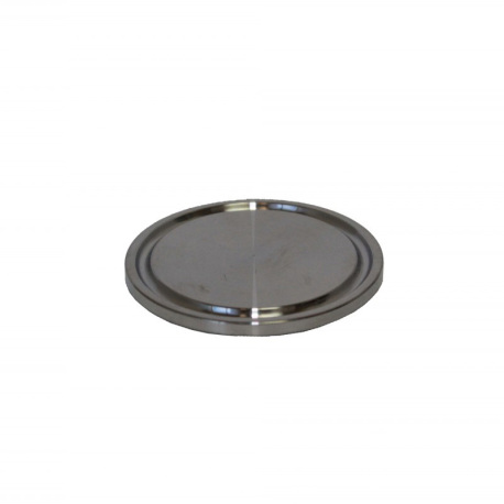 1.5 in. Tri-Clamp Cap,304 Stainless Steel
