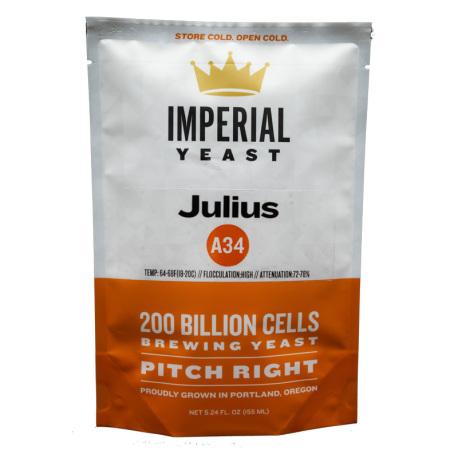 IMPA34 - A34 Julius - Seasonal Strain - Imperial Organic Yeast