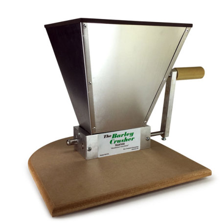 Barley Crusher Malt Mill with 15 lb. Hopper