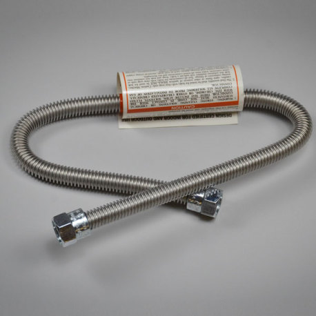Stainless Gas Flex Hose for Blichmann TopTier Burner