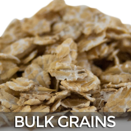 Flaked Barley - 50 lb. Bulk Bag