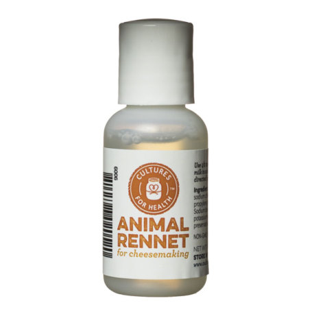 Liquid Animal Rennet, 1 oz